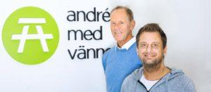 Ny hemsida André med Vänner blogg