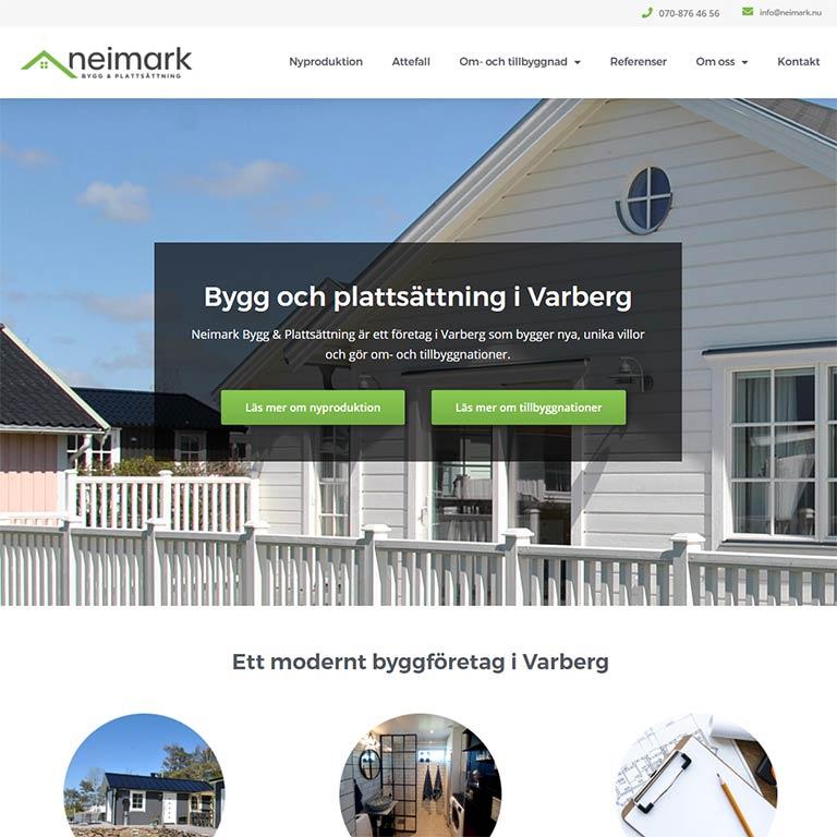Hemsida Bas Neimark Varberg blogg