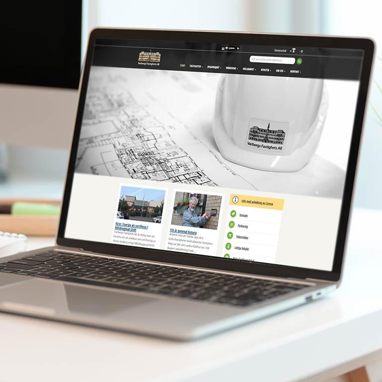 Hemsida Företag webbyrå webblösning Varberg