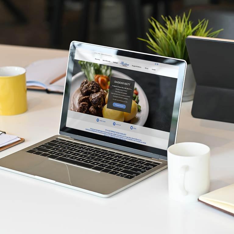 Hemsida Business för företag webbyrå Varberg
