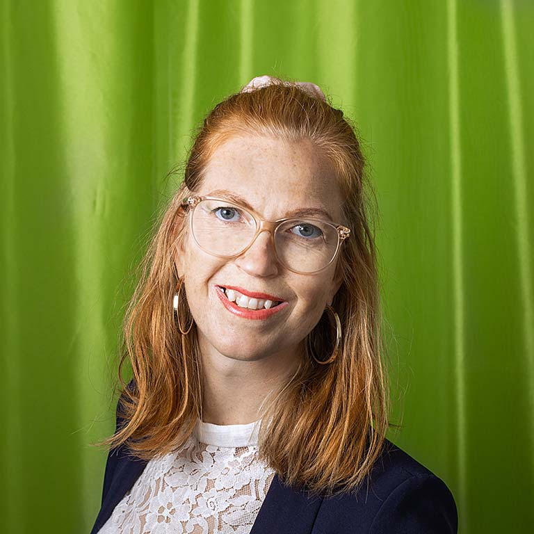 Medarbetare Johanna Nolsa André med Vänner
