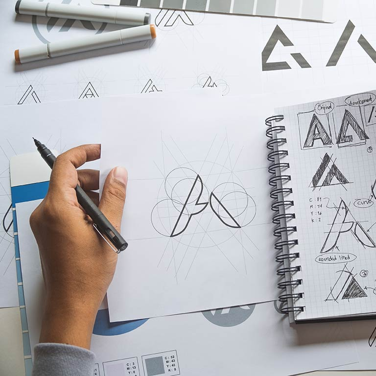 Proffsig logotyp Varberg reklamtjänst