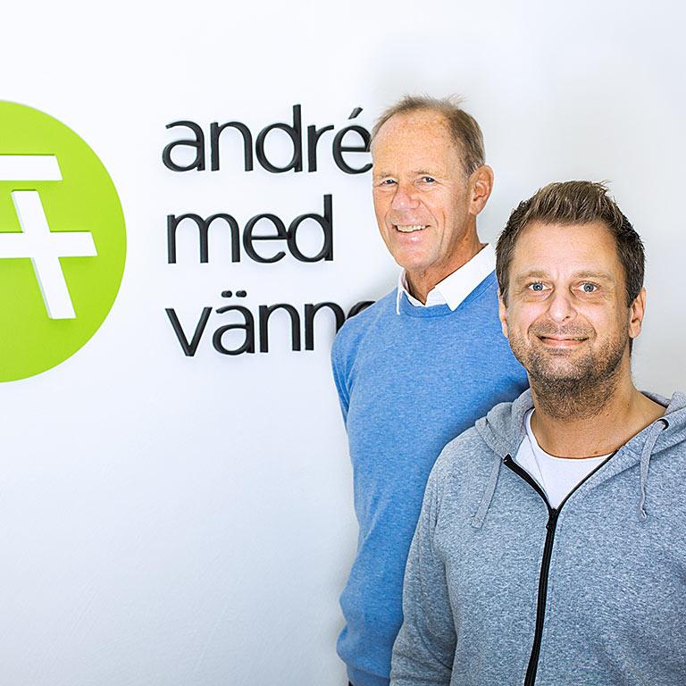 Håkan André Jesper Friberg André med Vänner
