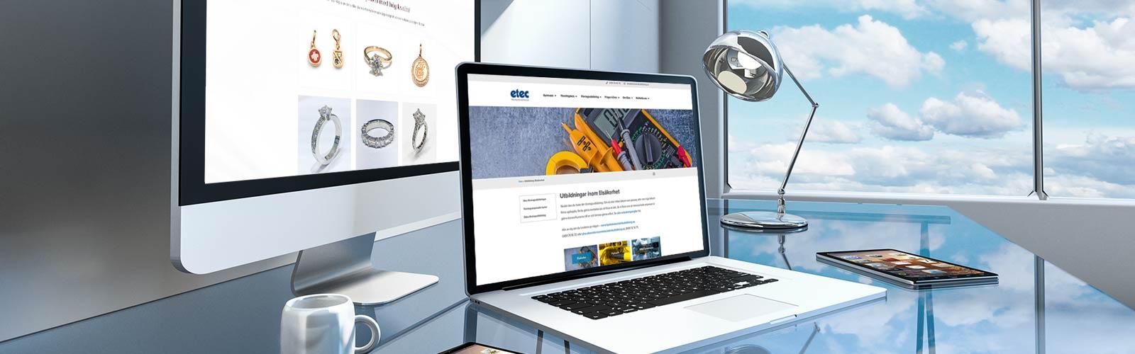 Hemsida Business webbyrå Varberg