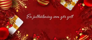Julhälsning till dina kunder blogg